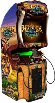 Big Buck World coin operated games