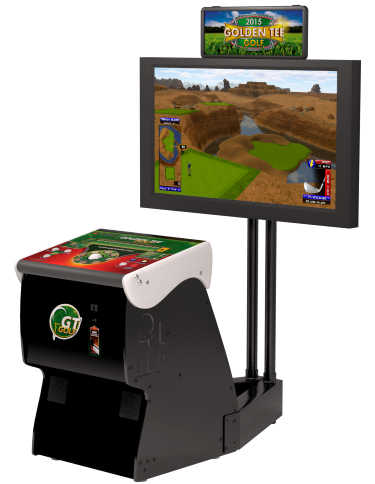 Golden Tee Golf coin operated games