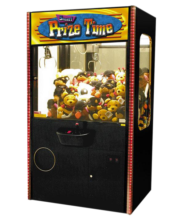 Smart prize time coin operated claw games